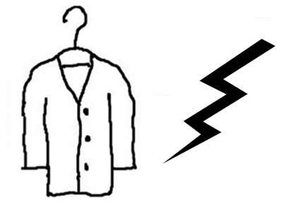 الکتریسیته ساکن لباس